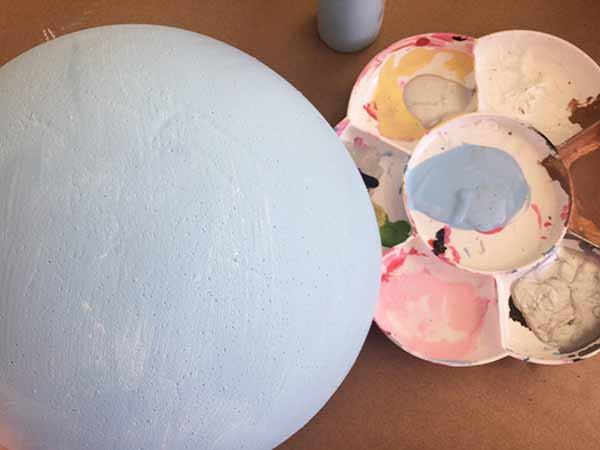 paint smoothfoam ball