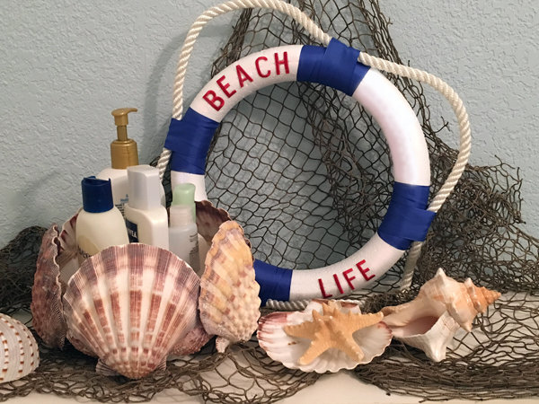 Beach Life Wreath