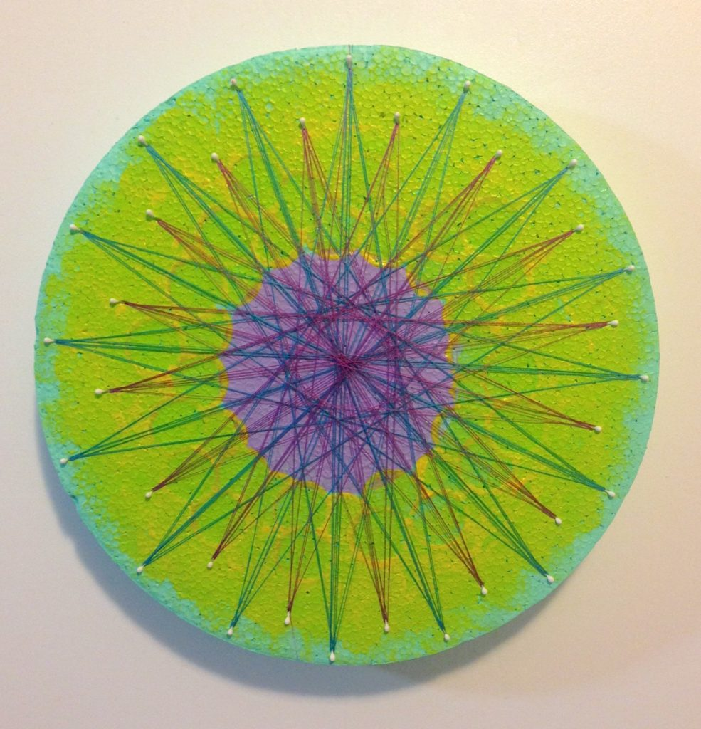 smoothfoam string art mandala