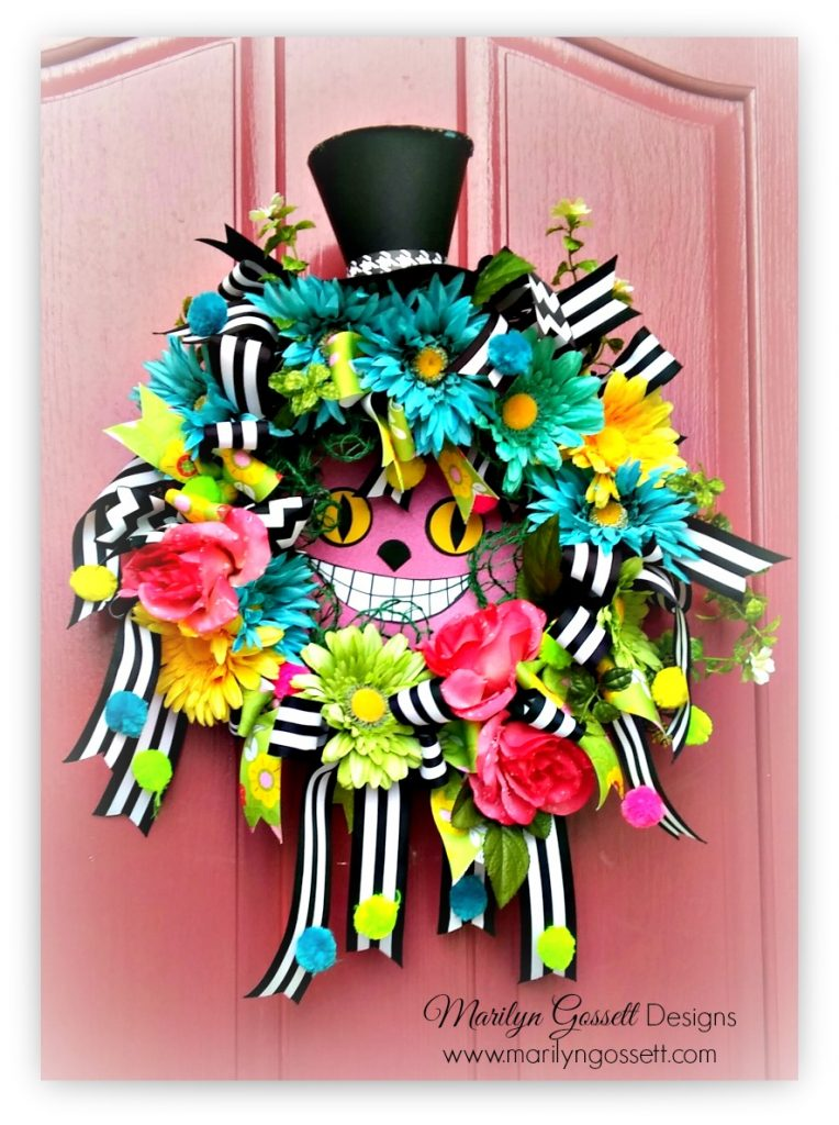 Smoothfoam alice in wonderland Wreath
