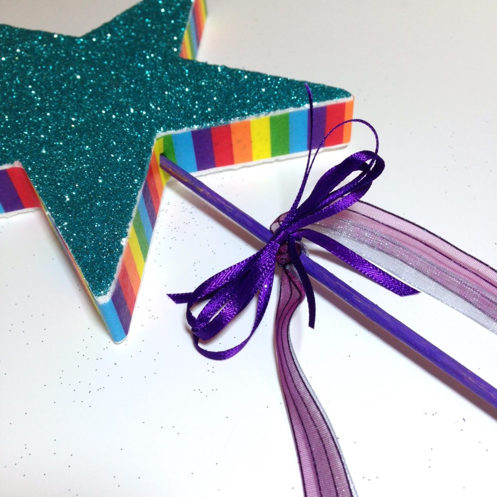 fairy wand ribbons