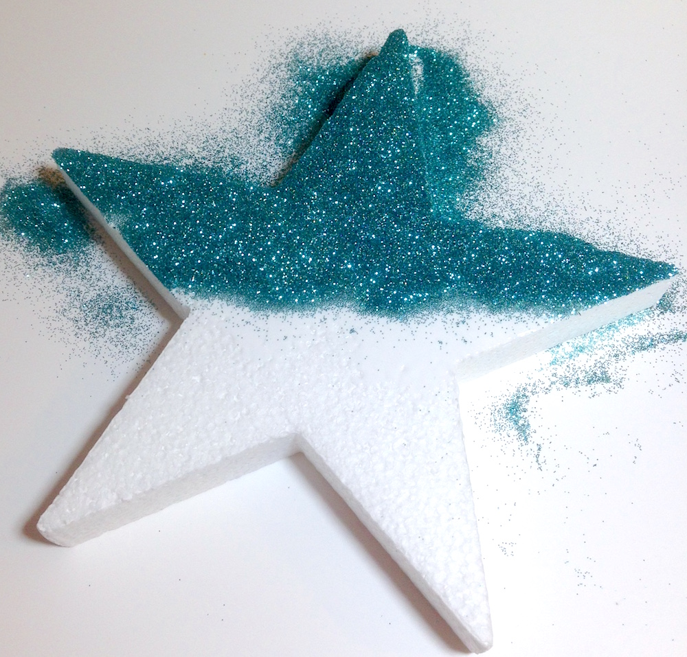 smoothfoam glitter star
