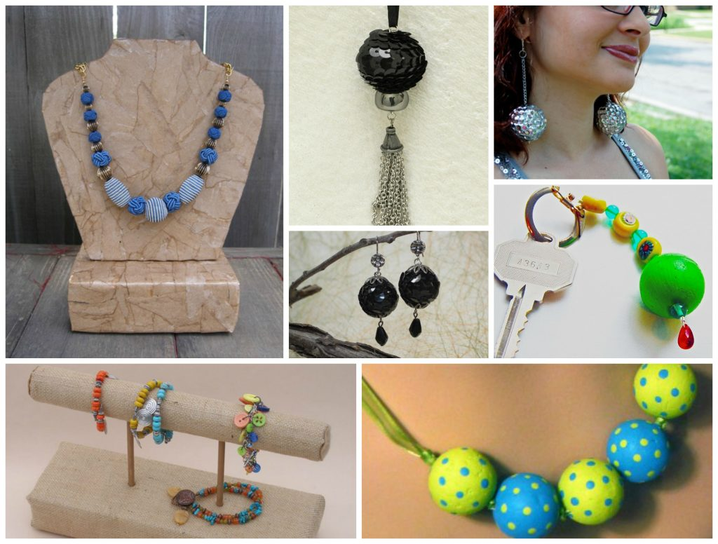 smoothfoam beads jewelry display