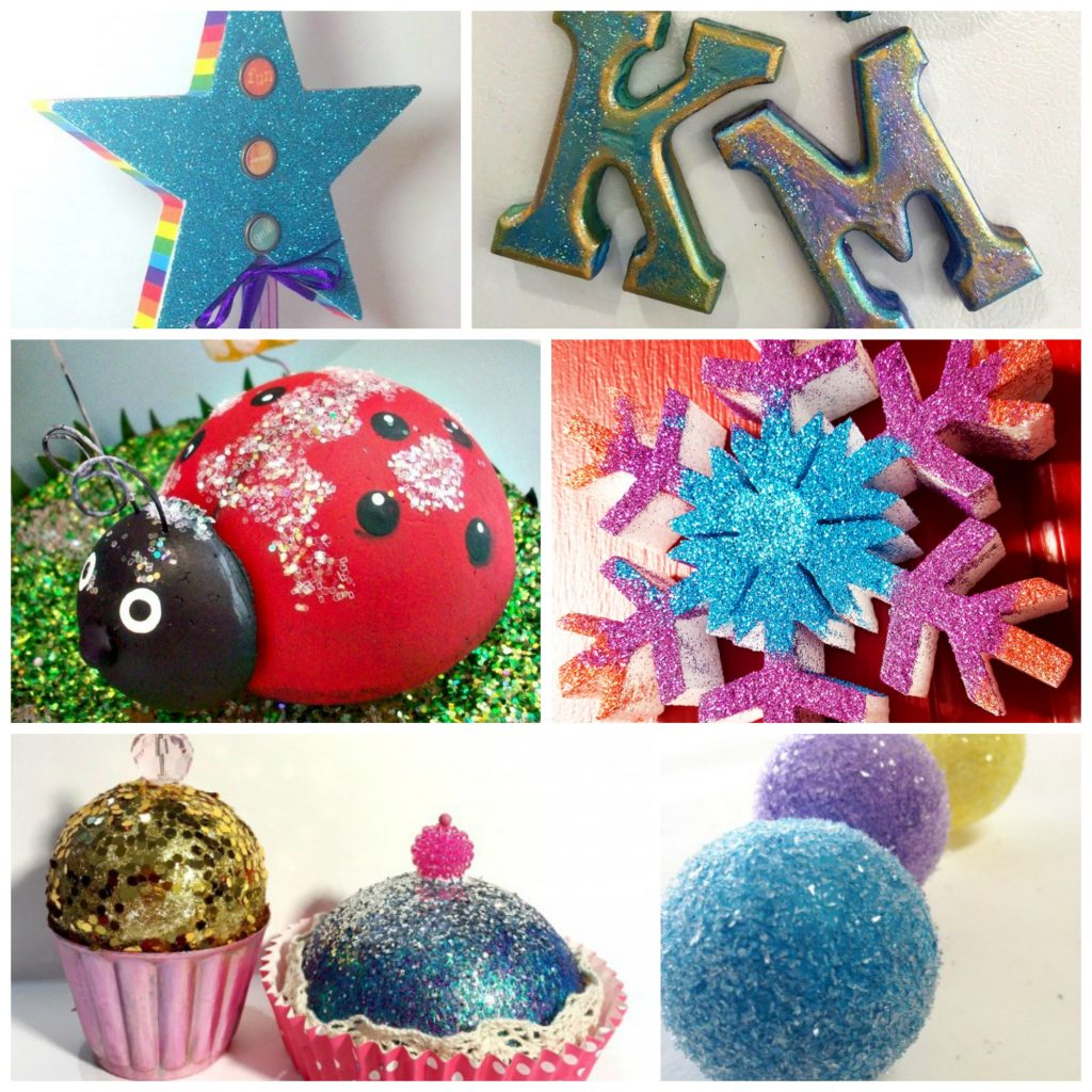 glitter smoothfoam projects