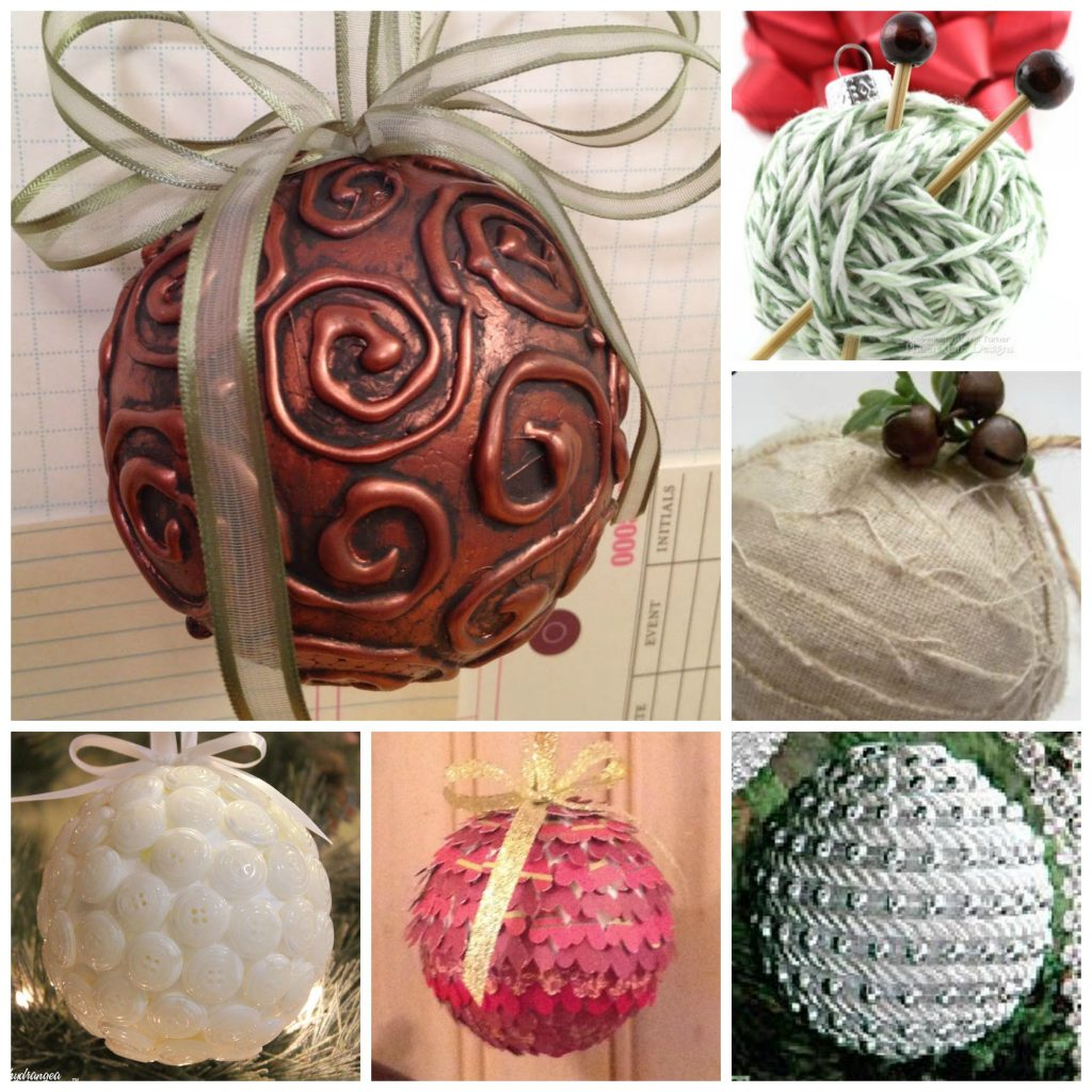 holiday ball ornaments