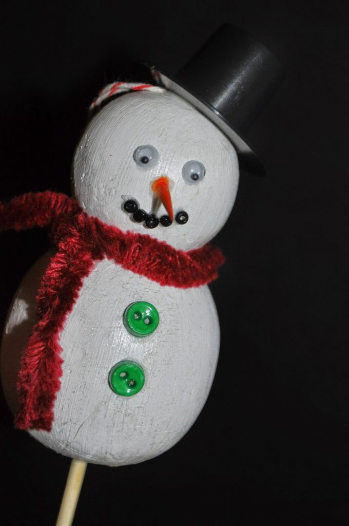 smoothfoam snowman stick