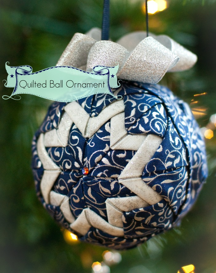 smoothfoam quilted ornament